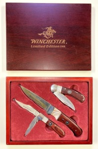 Winchester 2008 3-Piece Boxed Knife Set