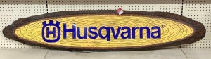 Husqvarna Chainsaw Lighted Store Display Sign