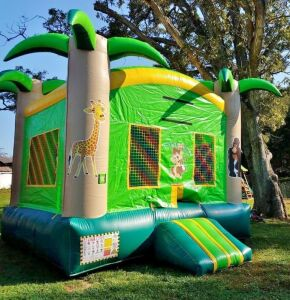 Bouncing Angels Inc. Castle Modular Jumper Inflatable