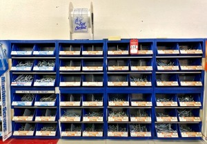 Midwest Fastener Corp. Machine and Wood Screw Assortment & Display Bins