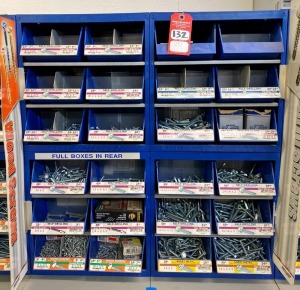 Midwest Fastener Corp. Self Drilling and Sheet Metal Screw Assortment & Display Bins