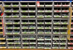 Midwest Fastener Corp. Carriage Bolt Assortment & Display Bins