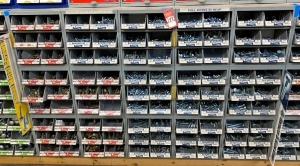 Midwest Fastener Corp. Grade 5 and Grade 8 Bolt Assortment & Display Bins