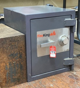 Fire King Combination Fire Resistant Safe