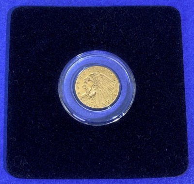 1915 $2.50 Indian Head Gold