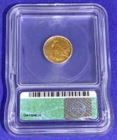 1928 $2.50 Indian Head Gold MS-61 ICG - 3