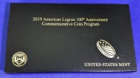 2019 US Mint American Legion 100th Anniversary Gold & Silver Coin Set - 2