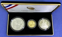 2019 US Mint American Legion 100th Anniversary Gold & Silver Coin Set - 4