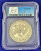 1860-O Seated Liberty Silver Dollar VG-10 ICG - 2