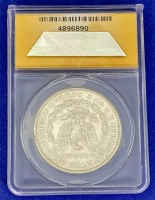 1882 Morgan Silver Dollar MS-61 ANACS - 2