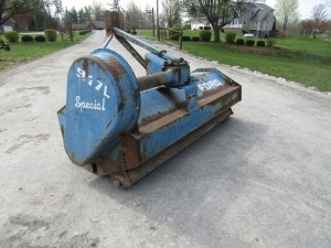 Ford 917L 3-pt Flail Mower