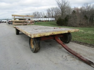 10-Ton Running Gear with Flatbed