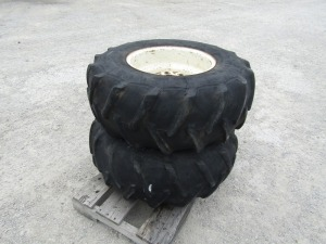 Firestone 12.5L-15 Power Implement Tires on Rims