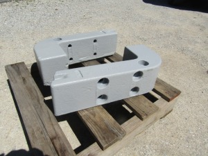 IH Frame Weights for 300-350 Utility Tractor