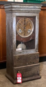 "Early ""International Time Recording Co"" Time Clock"