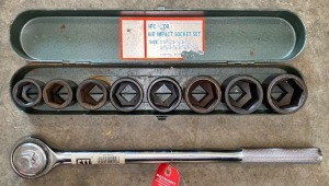 "3/4"" Drive Impact Socket Set"