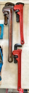 Ridgid Pipe Wrench Set