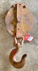 Large Vintage Snatch Block