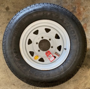 New Trailer Tire & Rim