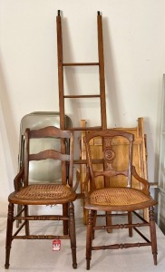 Chairs & Ladder