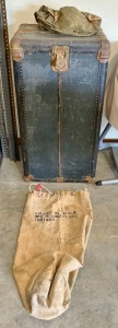 Early Shipping Trunk & Vallas Albin Duffle Bag