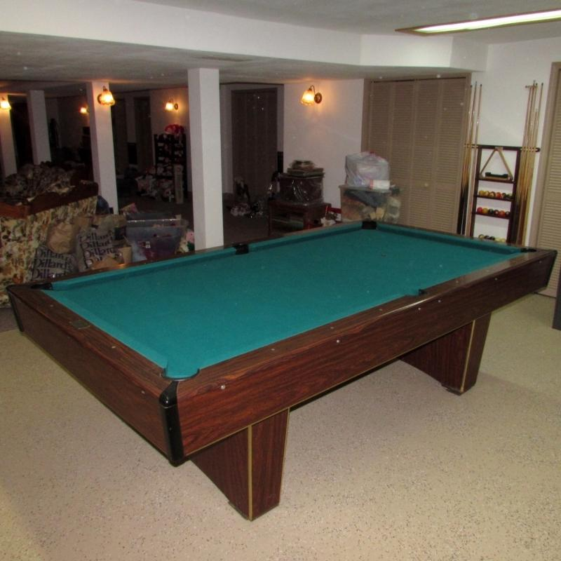 CC Steepleton Co Pool Table Current Price - Steepleton pool table