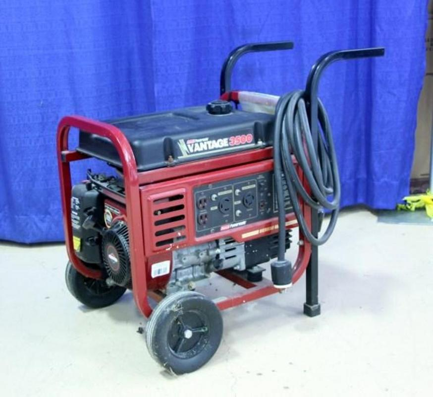 Coleman Powermate Vantage 3500 Generator with Briggs