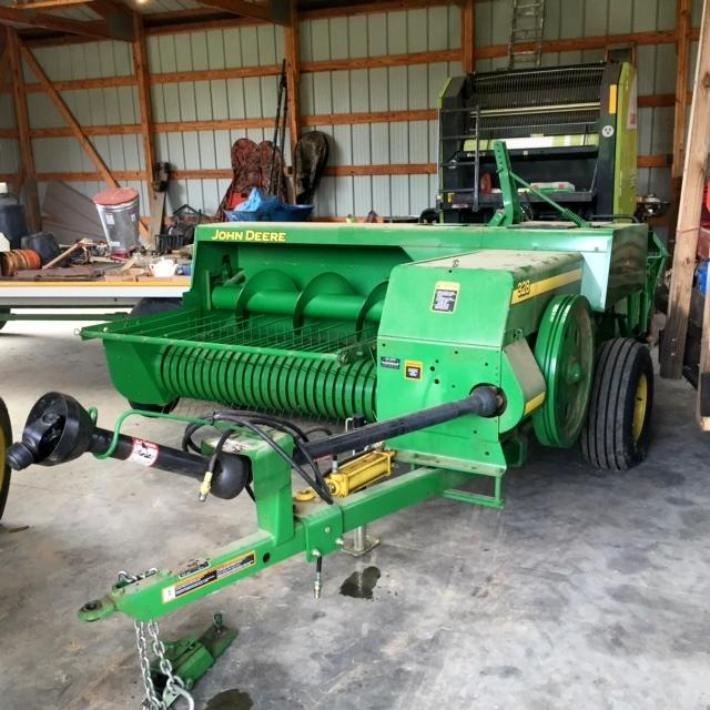 John Deere 328 Square Hay Baler - Current price: $13000