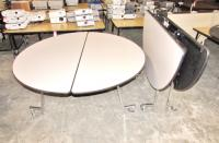 Sico Pacer Mobile Folding Tables on Casters