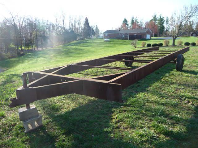 Mobile Home 32\' Trailer Frame - Current price: $225