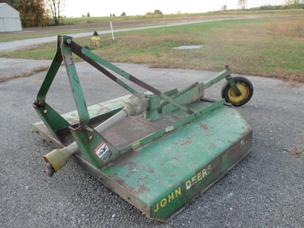 John Deere 513 Rotary Mower - Current price: $525