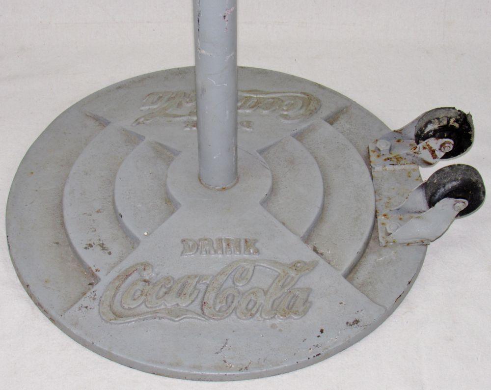 Coca Cola Lollipop Cast Iron Base Current Price 275