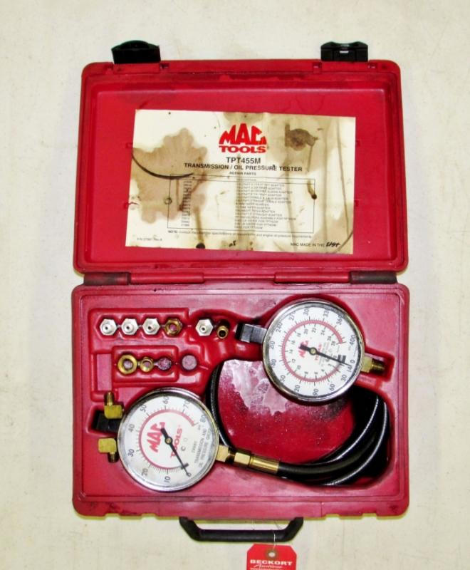Mac Tools TPT455M Transmission/Oil Pressure Tester - Current price: $90