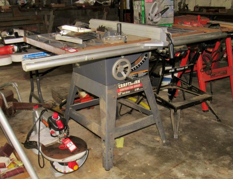 Craftsman Contractor Series 10 Table Saw Current Price 110