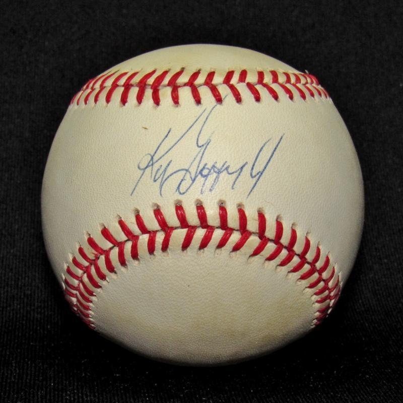 32a3a110d6 Ken Griffey, Jr. Autographed Baseball Please Wait... Click image to enlarge
