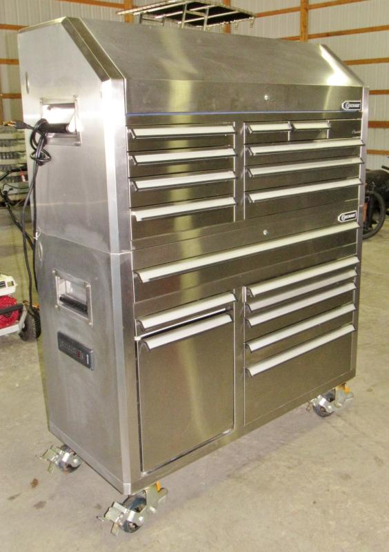 Kobalt Tools Review >> Kobalt Stainless Steel Tool Chest - Current price: $1300