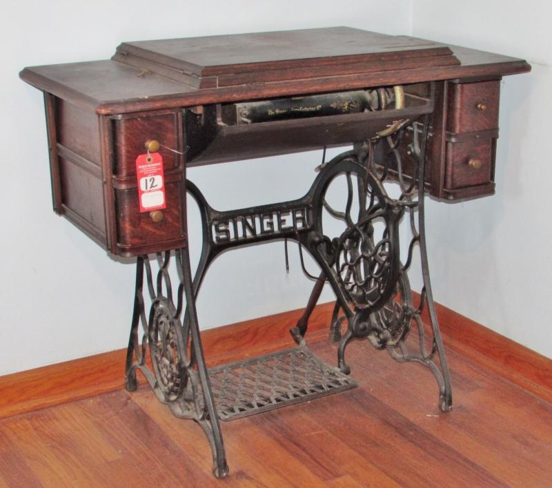Antique Singer Oak Treadle Sewing Machine Current Price 40 Cool Antique Singer Treadle Sewing Machine Prices