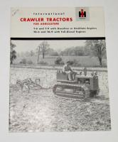 International Crawler Tractors for Agriculture Sales Brochure