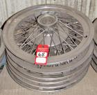 Vintage Ford Thunderbird Hubcaps