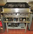 Bakers Pride 5-Burner Gas Grill & Stand
