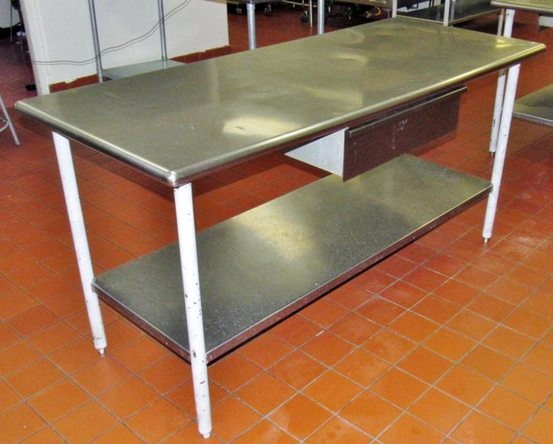 Stainless Steel Work Table Current Price - Stainless steel work table price