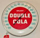 "Vintage ""Enjoy Double Cola"" Advertising Thermometer"