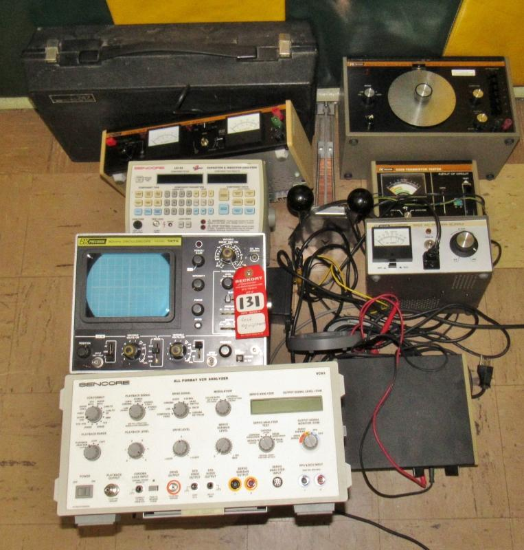 Vintage Electronic Testing Equipment - Current price: $225