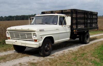 1967 Ford F350 Stake Bed Dump Truck