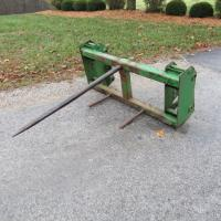 John Deere Loader Mounted Bale Spear
