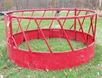 Large Round Hay Bale Feeder