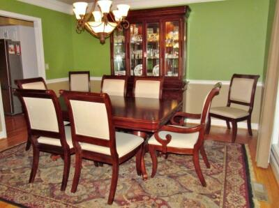 Universal Formal Dining Table & Chairs