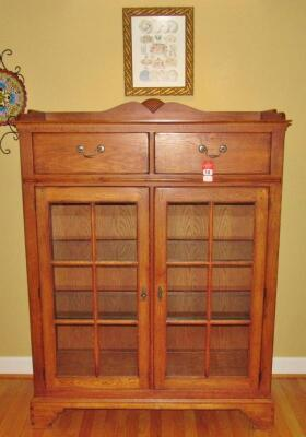 """Bob Timberlake"" Solid Oak China Cupboard"